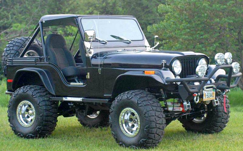 Jipe Willys CJ-5 custom