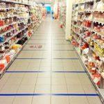 Faixa no piso faz gastar mais tempo e dinheiro no supermercado