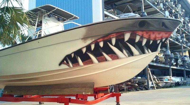 Reforma de casco de barco de pesca