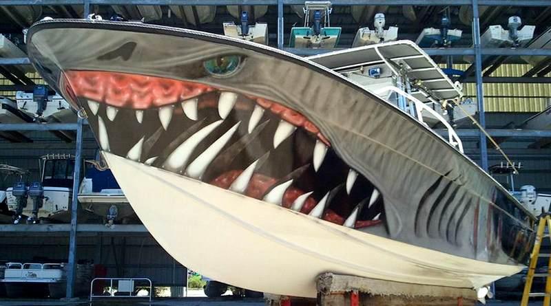 Casco de barco custom