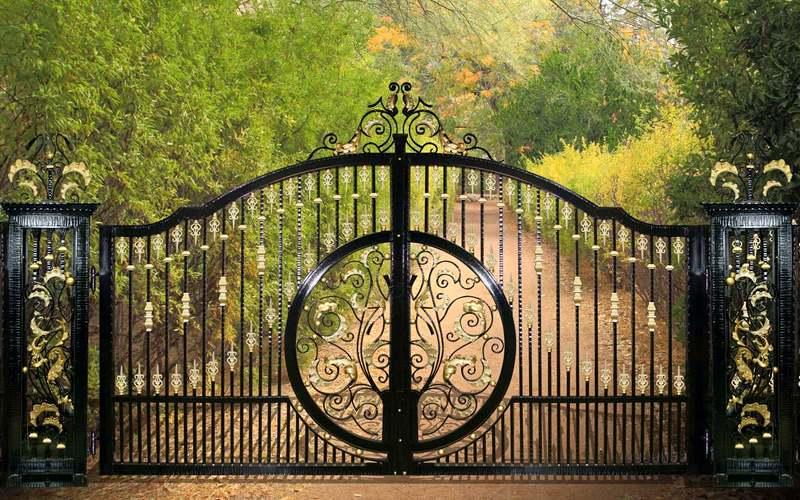 Projeto de portão artístico