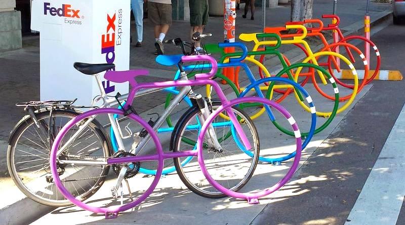 Projeto de bicicletário urbano
