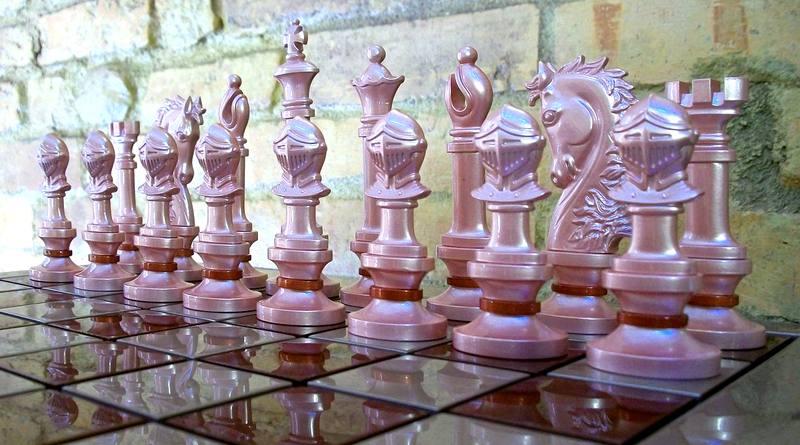 Peças de xadrez - como são feitas