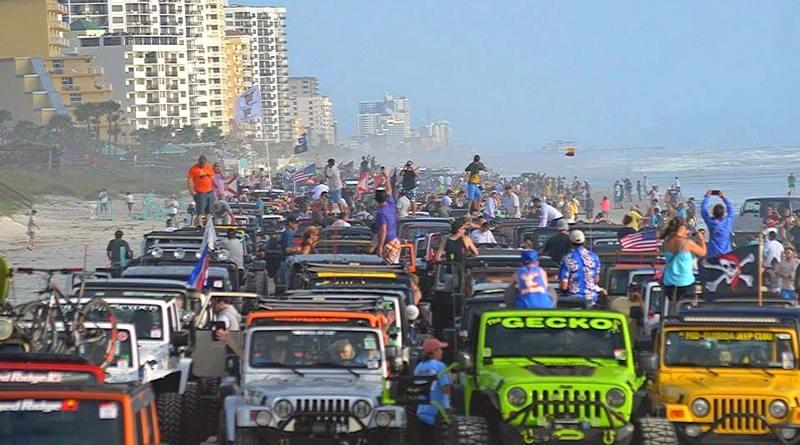 Jeep Beach Daytona Florida