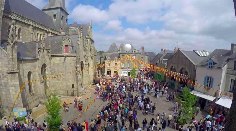 Festa medieval em Guérande