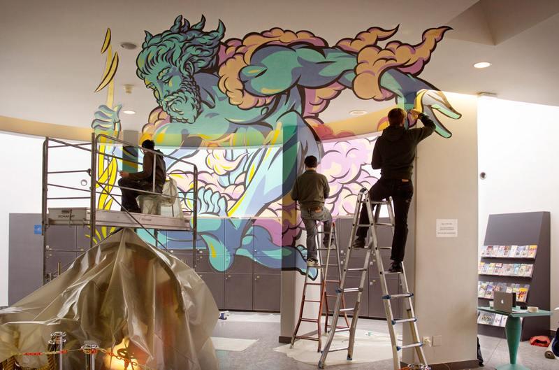 Graffiti valorizado na França