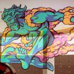 Graffiti nas paredes de um museu… na França, não em São Paulo