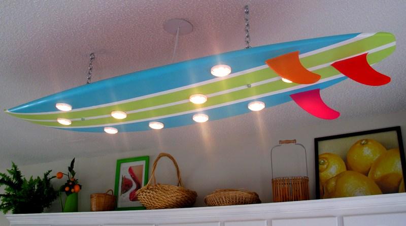 Iluminação de casa de praia