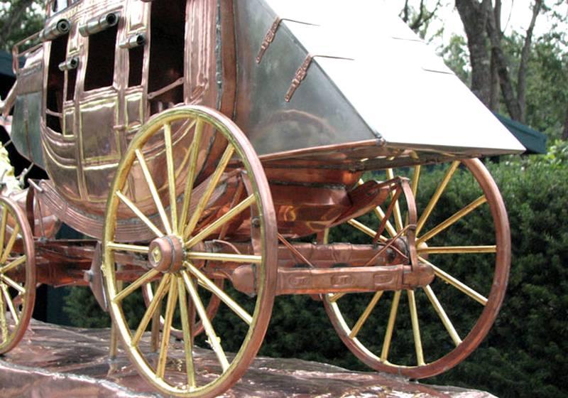 Meio de transporte no Velho Oeste