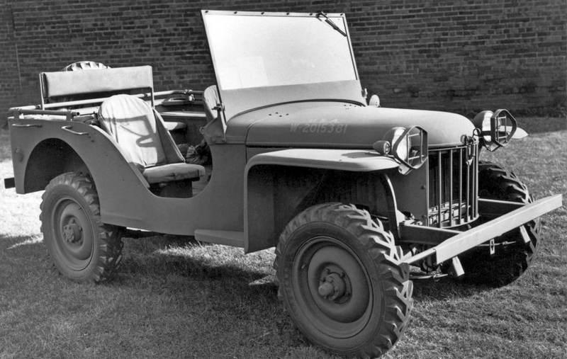 Jeep pioneiro