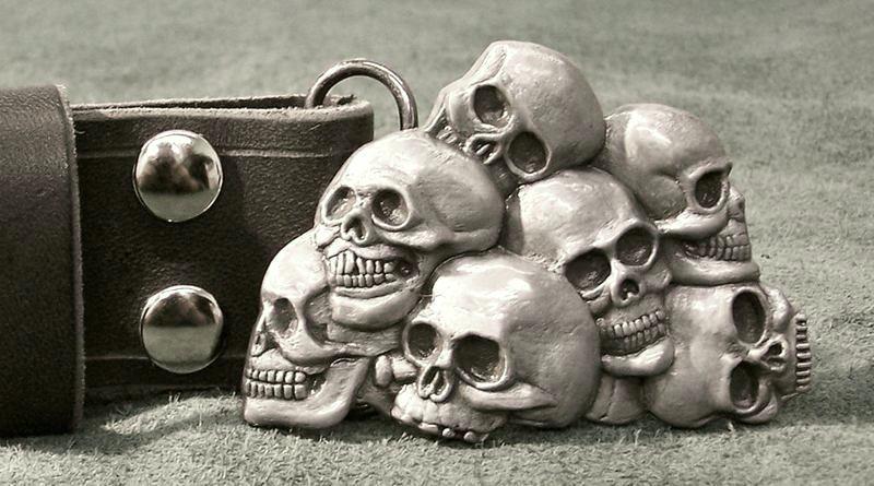 Moda dos crânios de metal