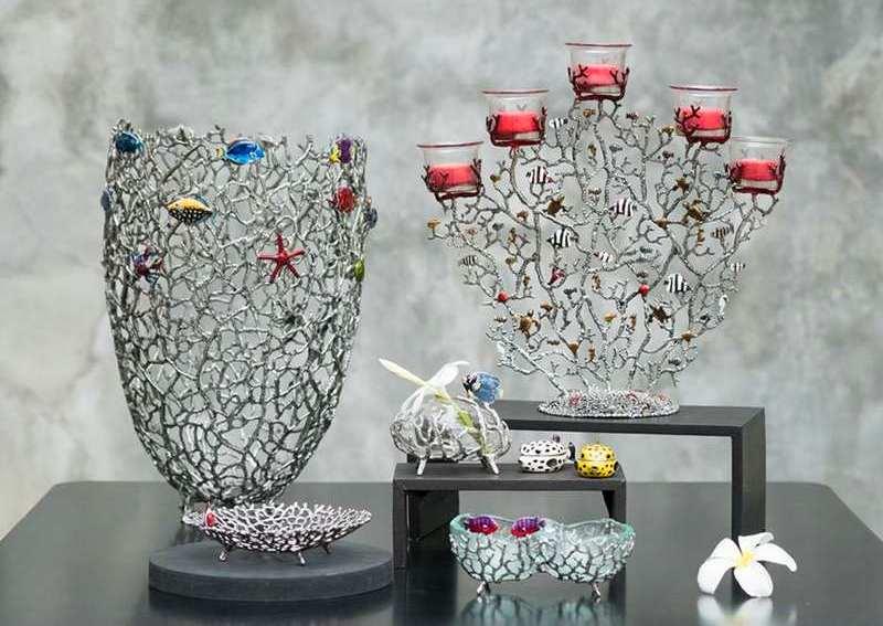 Vasos de metal