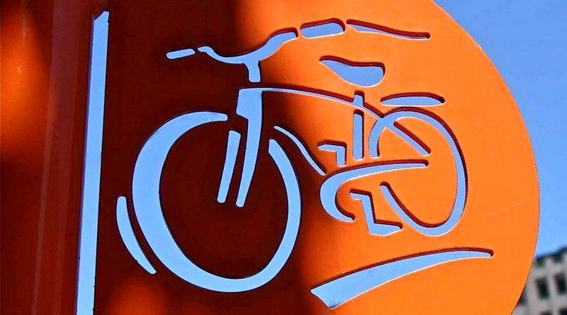 Painel para bike shop