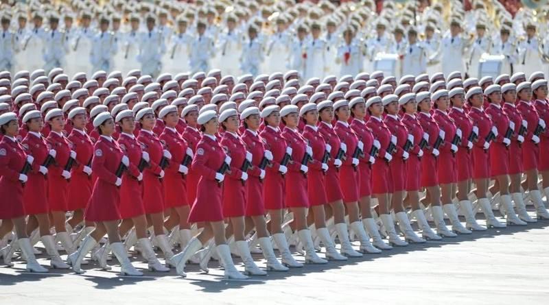 Exército feminino da China