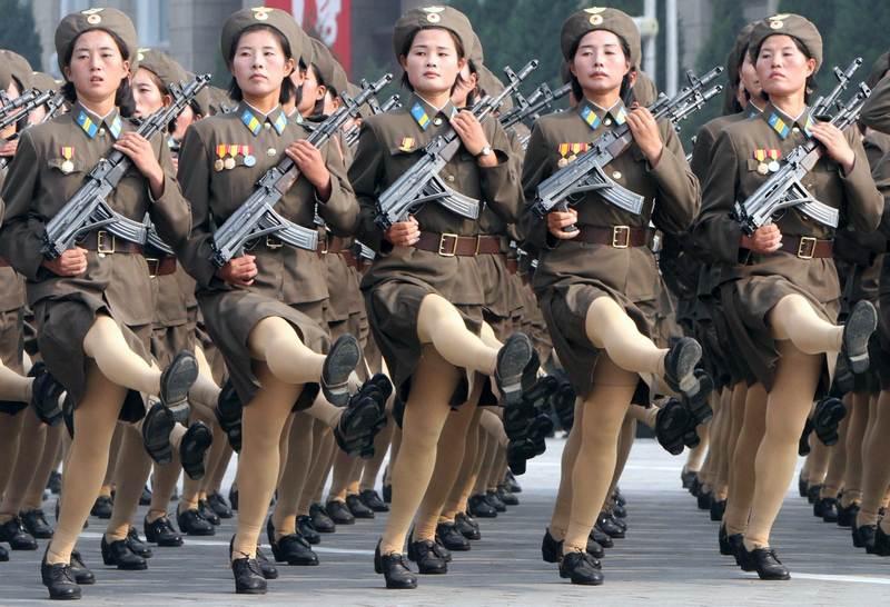 Exército feminino da Coreia