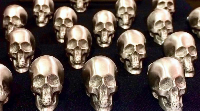 Fundição de crânios em Petrópolis