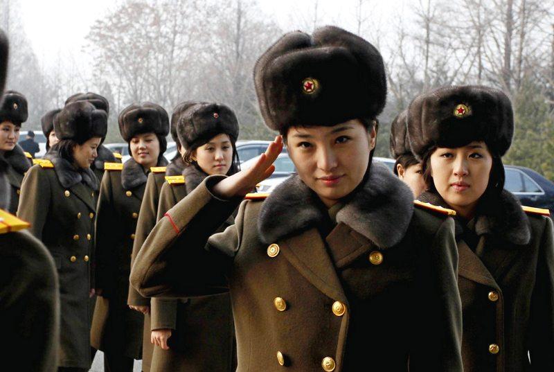 Exército de mulheres orientais