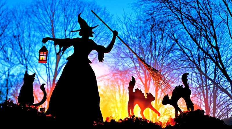 A magia das bruxas de metal