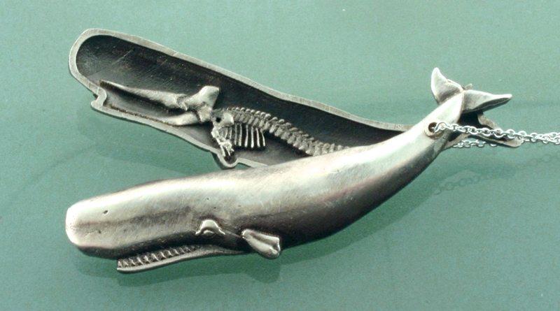 Bijuteria de animal marinho