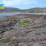 33 anos depois mar devolve à praia areia levada pela ressaca