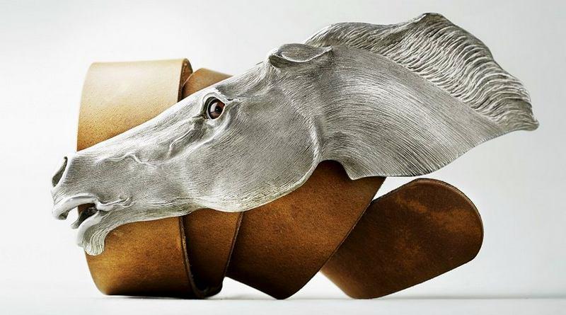 Fivela gigante de caubói
