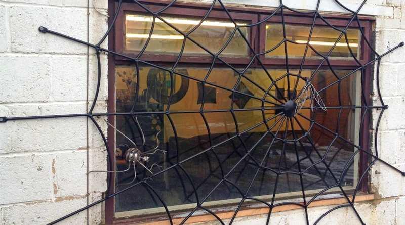 Teia de aranha como grade de ferro para proteger janela e porta – Matéria Incógnita – Inovação e ...