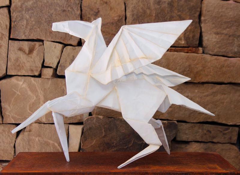 Molde para escultura de Pégaso