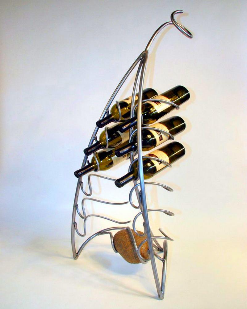 Rack para garrafas de vinho