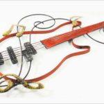 Serralheria em Petrópolis-RJ fabrica guitarras artísticas de metal