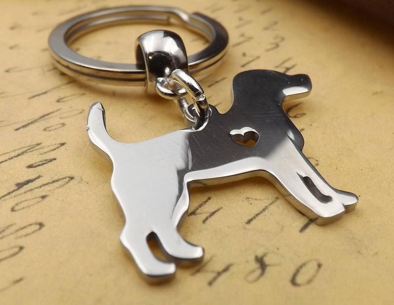 Silhueta de cão