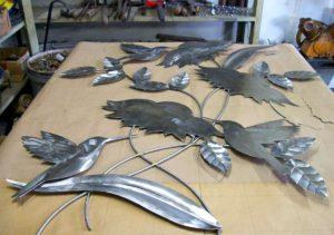 Projeto para escultura de aço