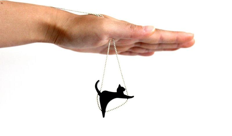 Pingente de gato para colar