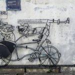 Street Art: os incríveis graffitis desenhados com varetas de metal