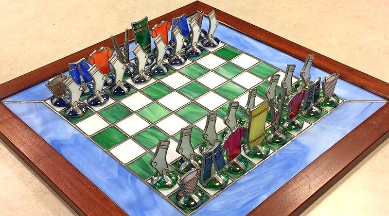 Fábrica de jogos de xadrez em Petrópolis - Rio de Janeiro