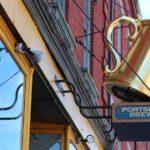 Caneca dourada 3D em letreiro para fachada de choperia