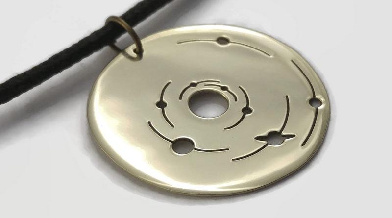 Pingente de metal para chaveiro