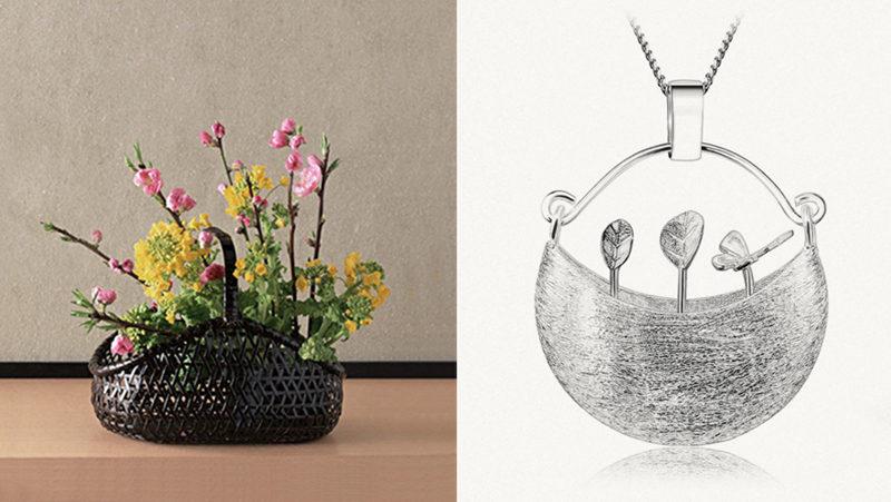 Bijuterias inspiradas na jardinagem