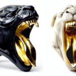 Anéis de panteras negra e branca: símbolos femininos de poder