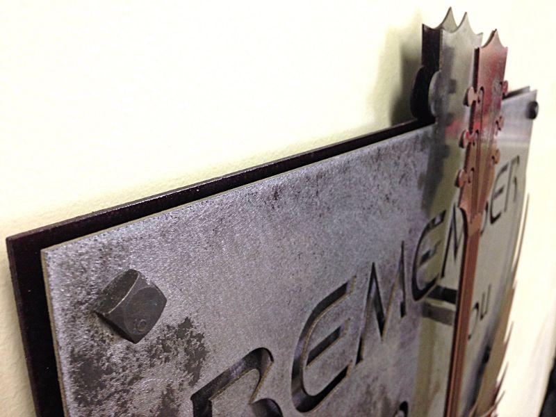 Chapas de aço cortadas a plasma