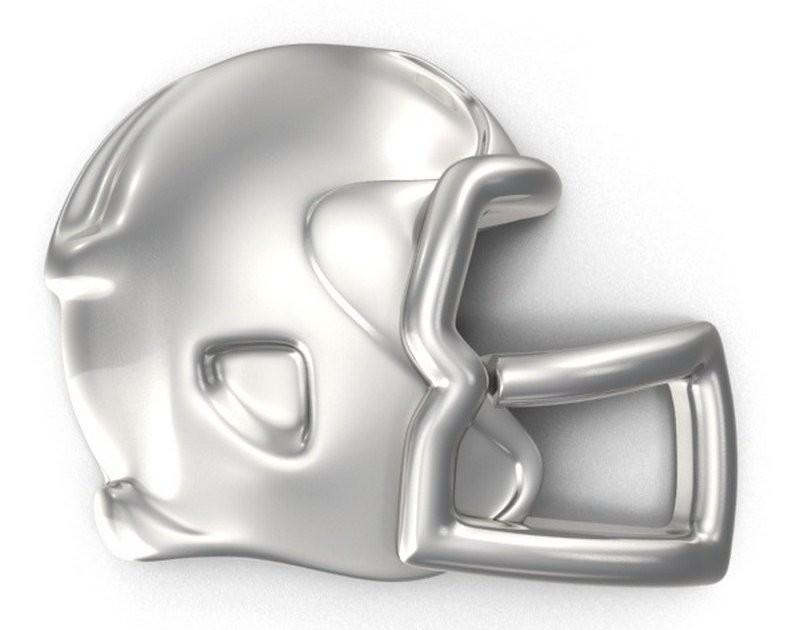 Capacete da NFL de metal