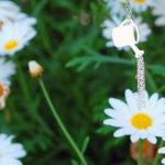 Bijuterias de jardinagem: regador e torneiras para molhar plantas