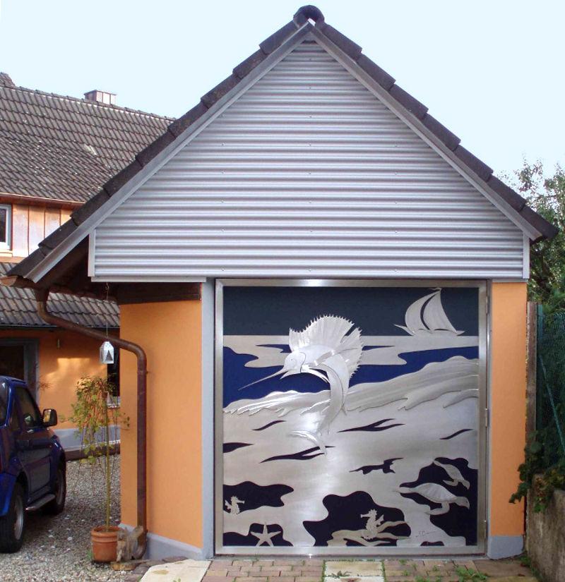 Painel de aço inox