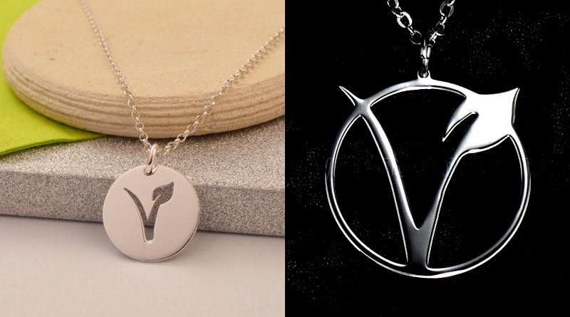 Símbolo com a letra V