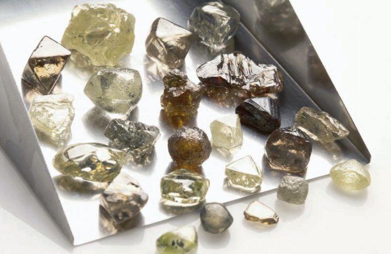 Pedras brutas geométricas