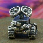 Berloque do robô apaixonado WALL·E para cordão e pulseira