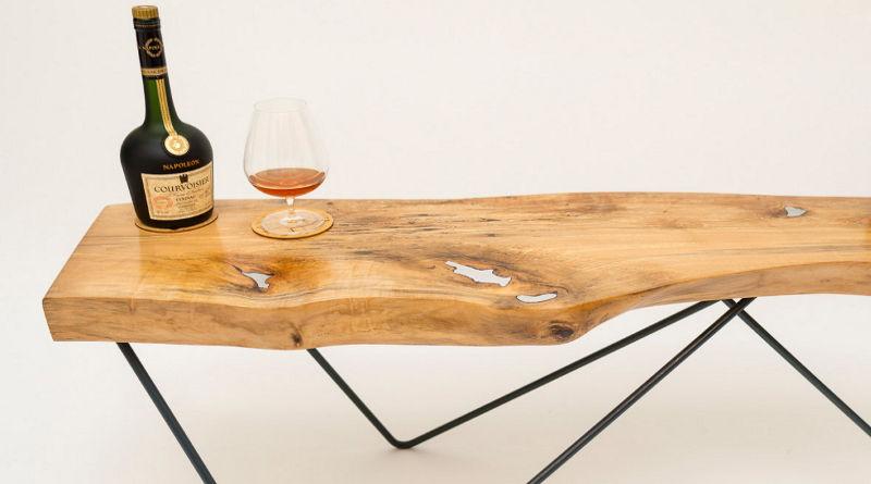 Revitalização de madeira com defeito