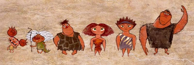 Cave Croods Animation