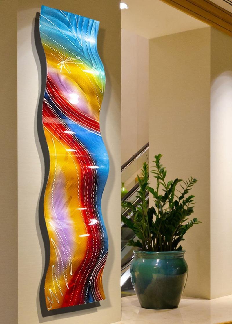 Escultura vertical para paredes