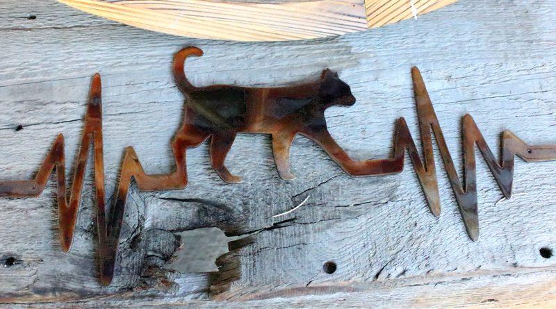 Painel paixão por gatos