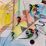 Pintor Kandinsky inspira bijuterias abstratas de acrílico colorido